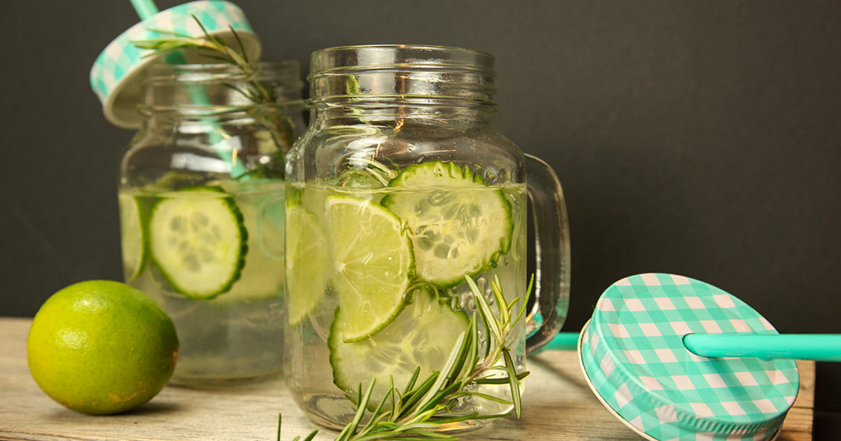 Green Tonic Water Cocktail