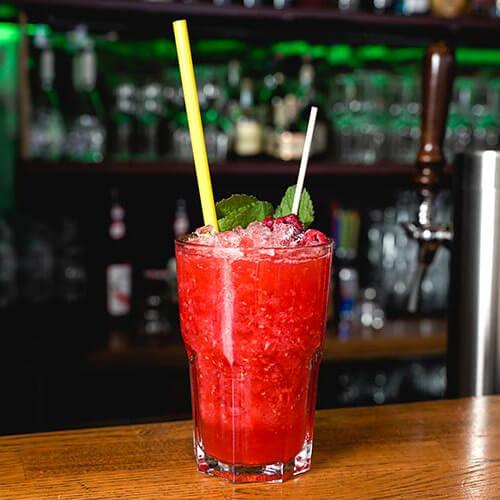 Gin Himbeer Slushy