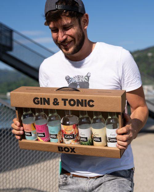 Rene mit Gin & Tonic Box