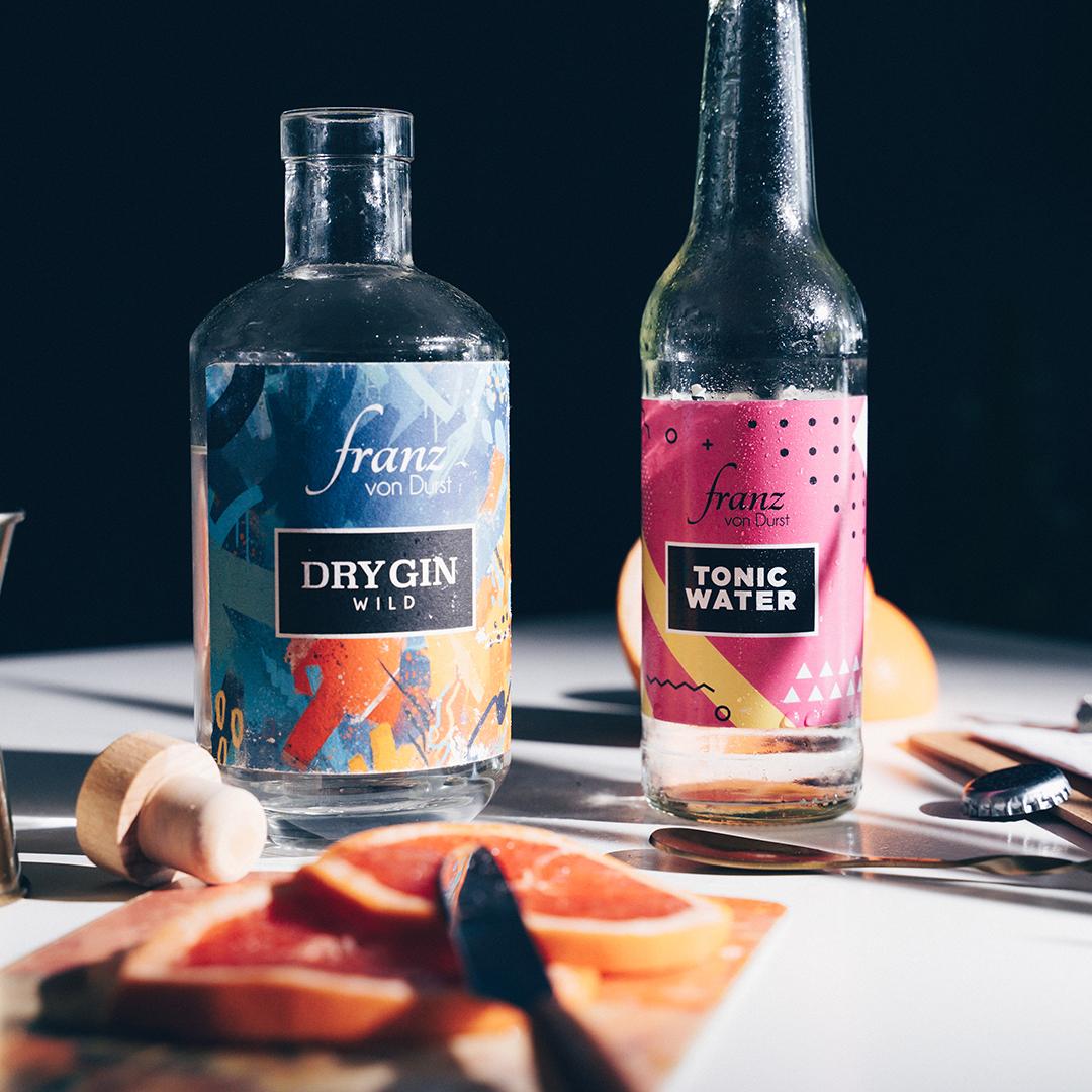 Gin und Tonic Water von Franz von Durst