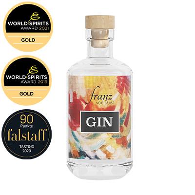 Franz von Durst Gin mit Auszeichnungen